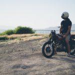 longue balade en moto