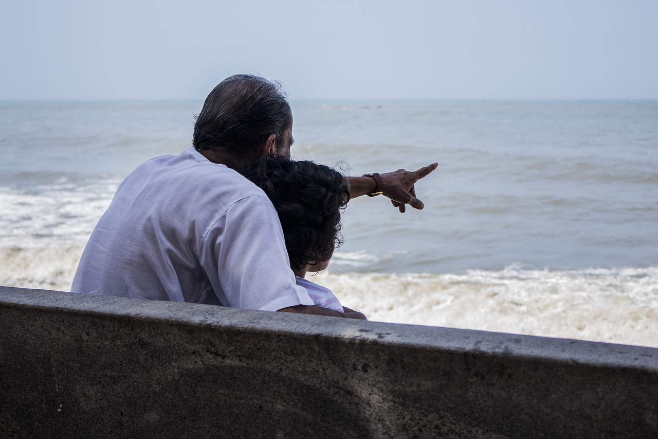 parent en vacance